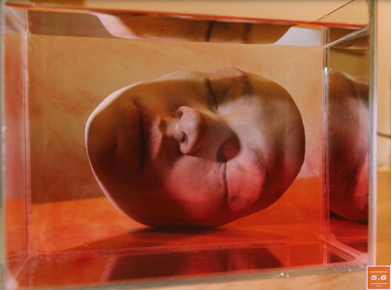 """Бо Валентин, """"Элемент / красный"""", из серии  «Ваш следующий шаг - Сделать трансмиссию», 2018"""