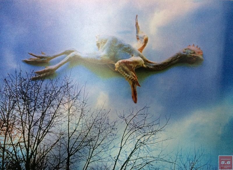 """Oleg Malyovanyj, """"The Blue Bird 2000"""", 1971"""